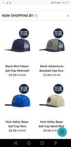 Tog24 caps down to £3 from £19.95 & buy one get one half price Free delivery and free returns!
