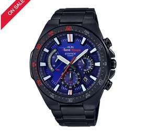 Casio Edifice Men's Toro Rosso IP Steel Bracelet Watch, £100 at h samuel with code