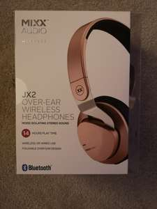Mixx Audio JX2 Bluetooth over ear headphones £12.50 - Asda in-store