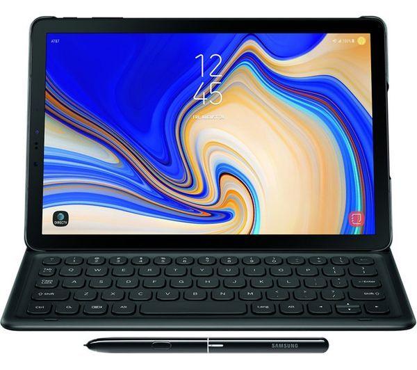 """SAMSUNG10.5"""" Galaxy Tab S4 Keyboard Folio Cover - Black £119 Currys"""