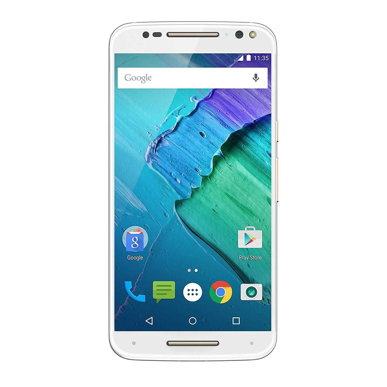 Motorola Moto X Style White. QuadHD IPS 5.7 inch. 4K Video 3GB+32GB Sold by Amazon - £138.35