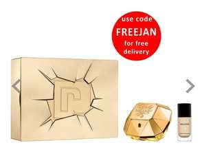 PACO RABANNE Lady Million Eau De Parfum 50ml & Nail Varnish Gift Set @ Beauty Base now £35 was £62.50 Free delivery with Code FREEJAN
