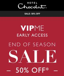 Hotel Chocolat - up to 50% off - Now open to all