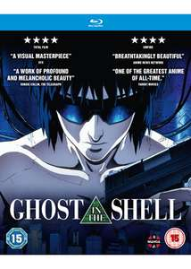 Ghost In The Shell [Blu-ray] The Anime Movie £6.99 @ Base.com