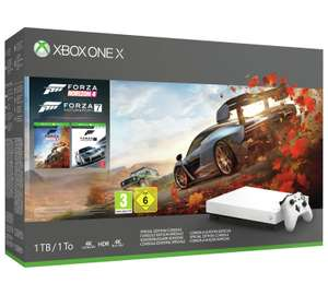 Xbox One X White 1TB Console & Forza 7 and Horizon 4 Special Edition Bundle with add to offer: FREE Red Dead Redemption 2 £399.99 @ Argos