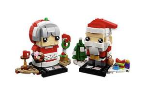 Lego Mr and Mrs Claus £12.59 @ Lego Shop