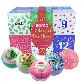 Bomb Cosmetics Boxing Day Sale 50% Off - Bath Blasters £1.50, 12 Days of Christmas £17.50, Gift Sets from £3.99, Candles £4.50