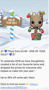 Pop In a Box - End of Year Sale (£2.99 delivery)