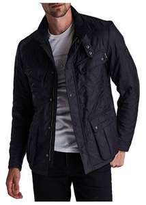 Barbour aerial polar quilt mens jacket (navy). £83.70 with new customer code @ Dapper street