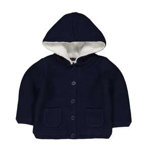 Borg lined cardigan £5 @ mothercare free click and collect