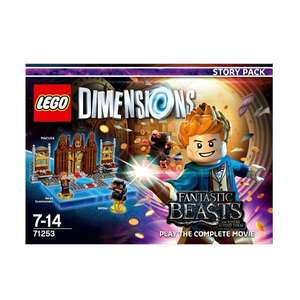 Lego dimensions story pack £9.99 @ Smyths
