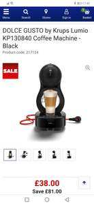 DOLCE GUSTO by Krups Lumio Coffee Machine - £38 @ Currys PC World