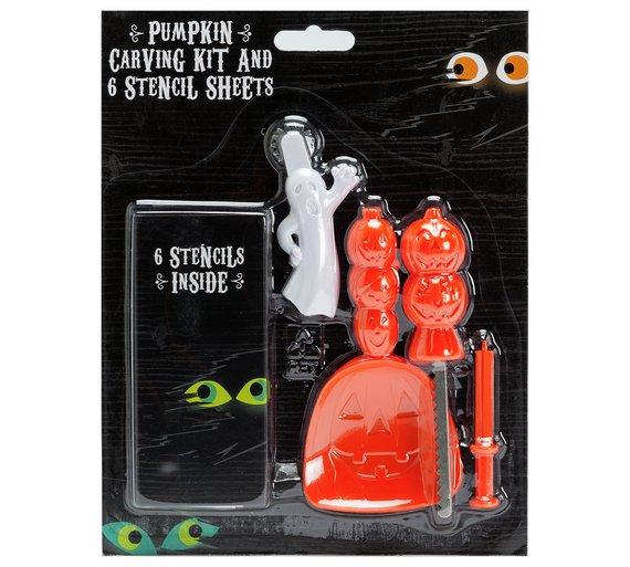Halloween Pumpkin Carving Kit 30p @ Argos (C&C)