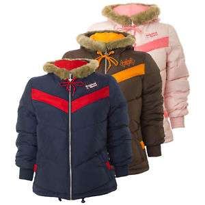 Adidas Originals Women S Girl S Petite Winter Coat Jacket Faux Fur