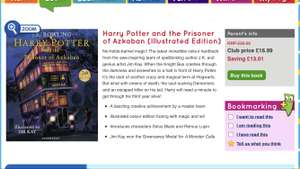 Harry Potter & The Prisoner of Azkaban Illustrated Edition £16.99 - Scholastic