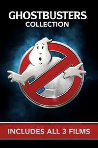 Ghostbusters 3 film collection (4K Dolby Atmos & Vision)  £9.99 @ iTunes