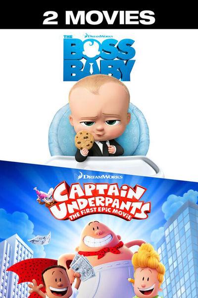 Boss Baby & Captain Underpants £5.99 @ iTunes