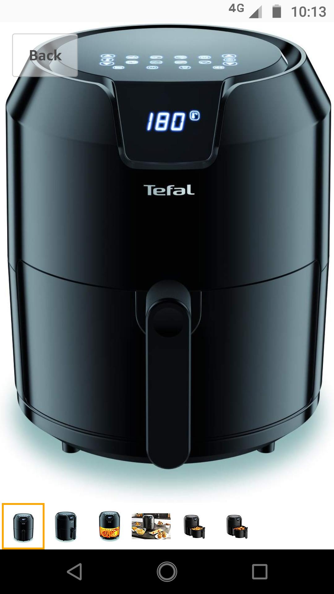Tefal Easy Fry Precision EY401840 Low Fat/Health Fryer, Air Fryer, 4.2L at Amazon £59