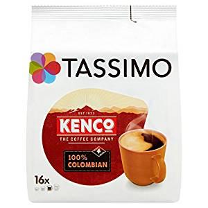 Selected Tassimo Coffee Pods - Case of 5 Packs - 80 Pods - £13.20 (Prime) £17.69 (Non Prime) @ Amazon