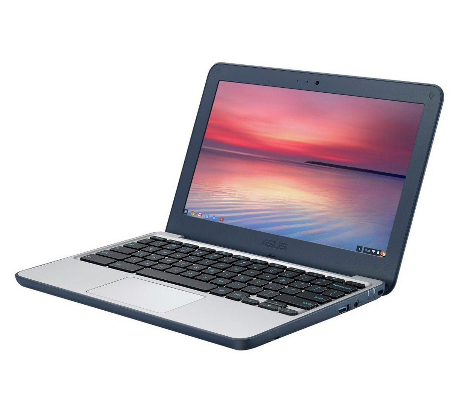 Asus C202 11.6 inch Chromebook (2GB, 16GB, Celeron) - £129.99 @ Argos
