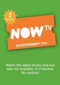 NOW TV 2 Months Entertainment Pass £3.49 @ cdkeys