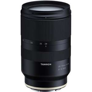 Tamron 28-75mm F2.8 Di III RXD Lens (Sony Fit) / FE full frame lens - £674.10 (with code) @ Park Cameras