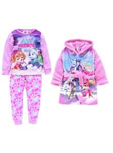 PAW Patrol Pink Nightwear Set- different sizes - £12.99 @ Argos (free C&C)