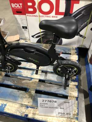 "Jetson 12"" (30.5cm) Bolt Folding Electric Commuter Bike at Costco instore for £311.98"