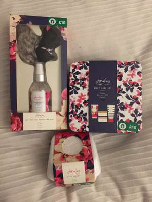 JOULES Gift sets all half price at Boots now £5 instore - Some online