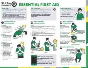 Get A Free Pocket Sized First Aid Guide | St John Ambulance
