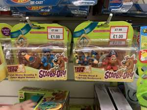 Scooby doo figures at a1toys instore for £1
