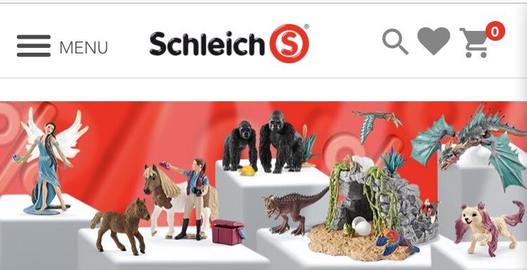 Schleich 10% discount on SALE