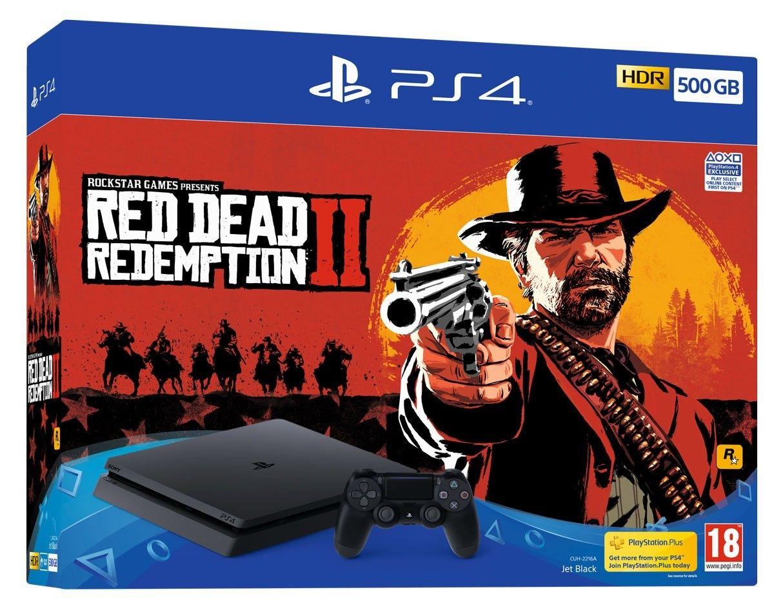 PS4 Slim 500GB Red Dead Redemption 2 / Fifa 19 Console £193.67 @ Shopto Ebay
