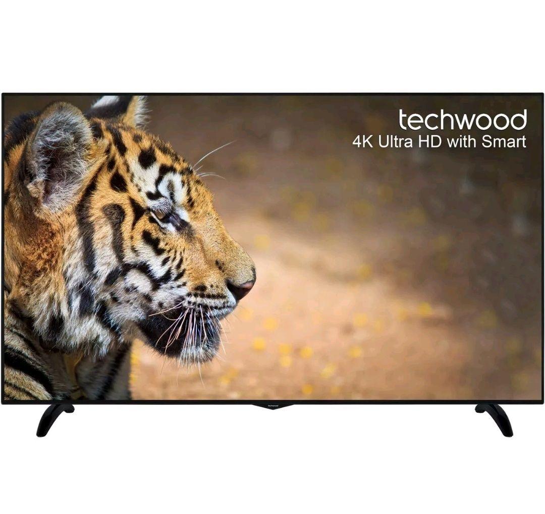 Techwood 65AO6USB 65 Inch 4K Ultra HD Smart LED TV 3 HDMI at ao ebay for £424.15