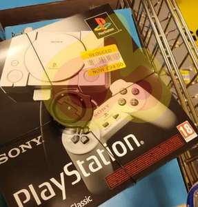 PlayStation Classic + 2 Controllers £24.50 @ Tecso Maryhill