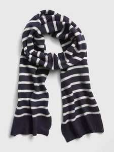Accessories - Free Delivery using code @ Gap e.g Cozy Stripe Scarf £14.99