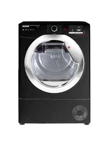 Hoover DX C10TCEB-80 Freestanding Condenser Tumble Dryer with NFC, 10kg Load, B Energy Rating, Black £279 @ John lewis & partners
