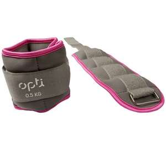 Opti Ankle Weights - 2 x 0.5kg @ Argos Was £7.99 Now £3.99 (free C&C)