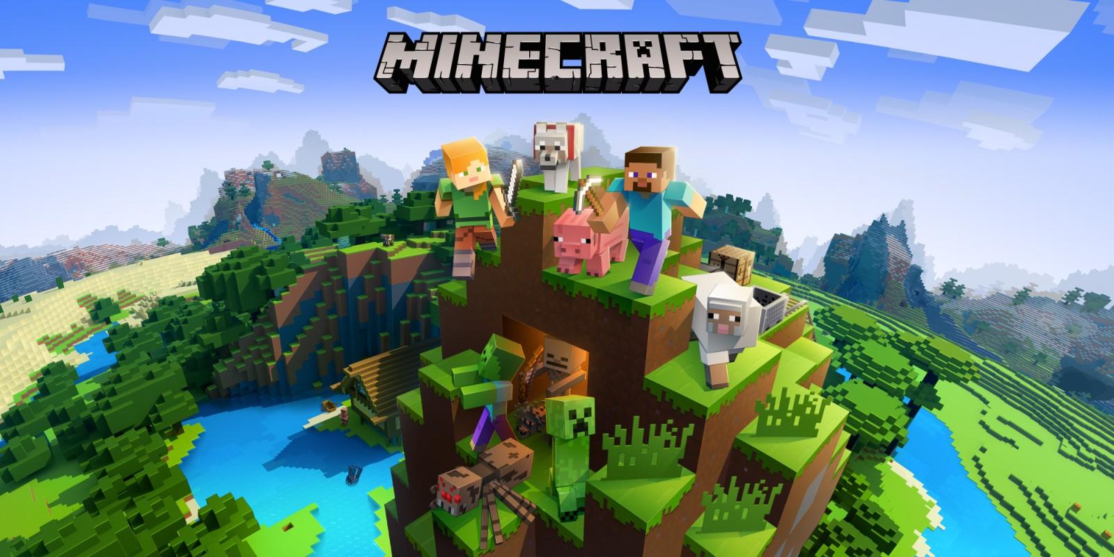 Minecraft Switch FREE! on Nintendo Estore
