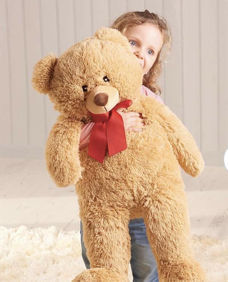 Jumbo plush bear (28in) and jumbo unicorn plush @ dunelm free c+c £5