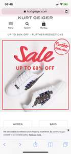 Kurt keiger-upto 60% sale - further reductions (free C&C / £4.95 delivery)