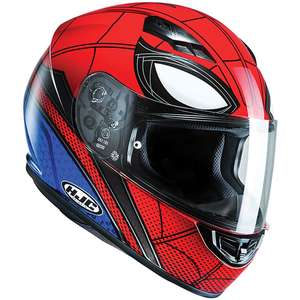Motor Bike Helmet HJC CS-15 Marvel - Spiderman Homecoming at SportsBikeShop for £89.99