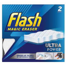 Free Flash Magic Eraser Extra Power 2 pack @Supersavvyme