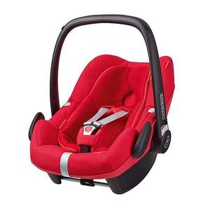 Maxi-Cosi Pebble Plus - Origami Red £116.96 with free delivery @ Winstanleys Pramworld