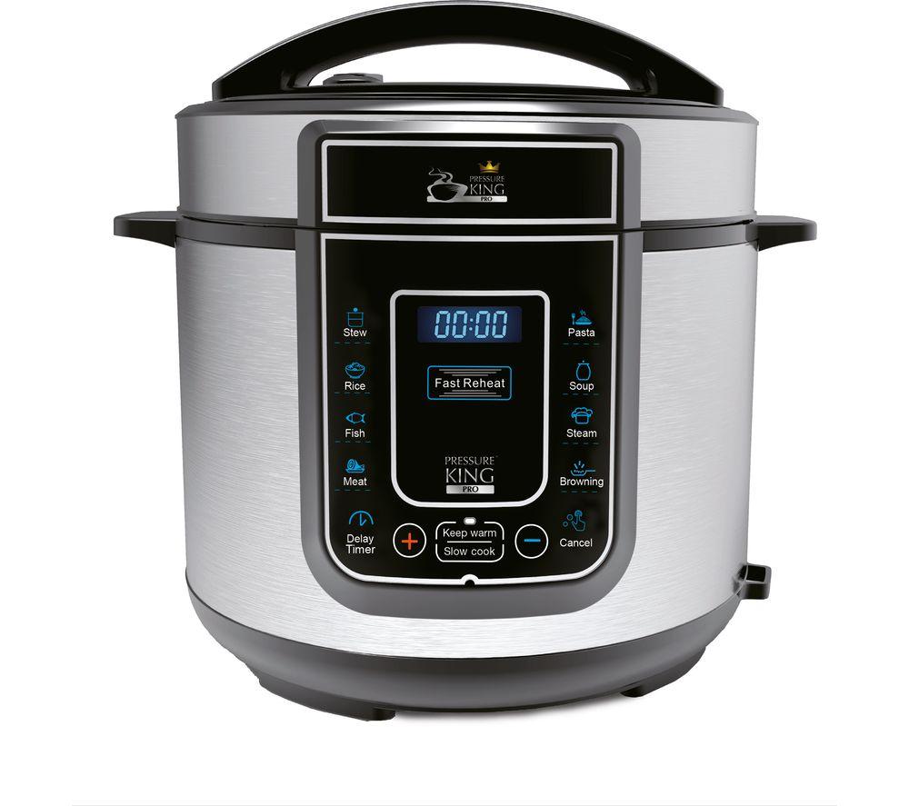 Pressure King Pro 5 litre (Chrome) 12 in 1 pressure cooker - £46 instore @ Tesco