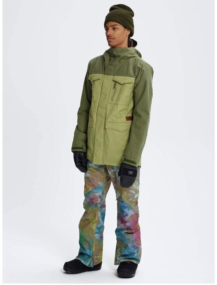 Men's XL Burton Covert Snowboard Jacket. Colour: Mosstone / Clover - £32.17 @ Amazon