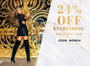 24% off at PrettyLittleThing