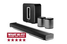 Sonos PLAYBAR, SUB & 2X PLAY:1 wireless 5.1 speaker system £1499 @ richersounds
