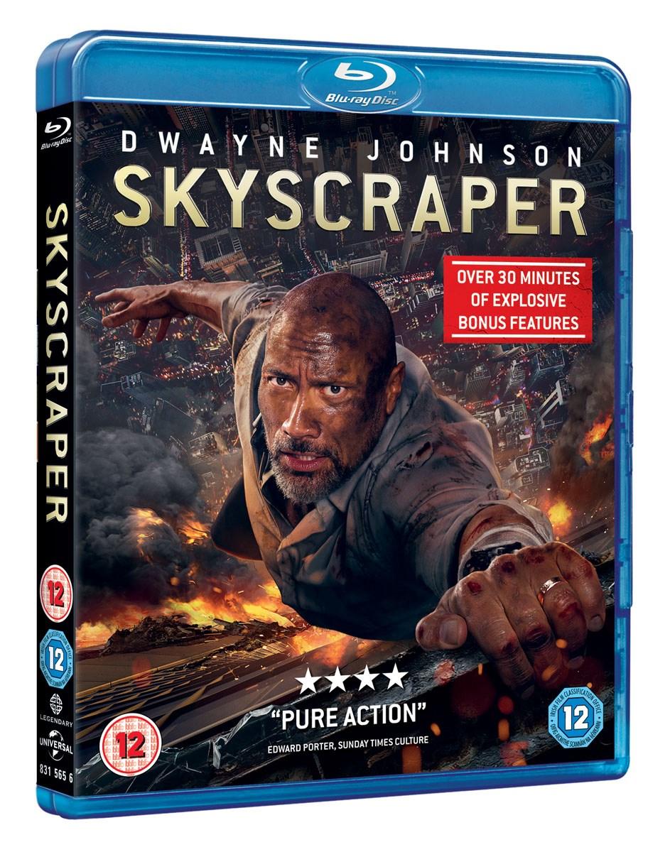 Skyscraper Blu-ray + HD Digital £9.99 @ Sky Store