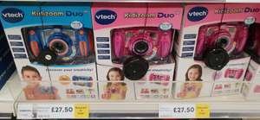 Kidizoom Duo camera half price inside Tesco - £27.50